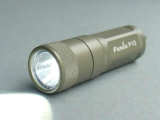 Fenix keychain flashlight